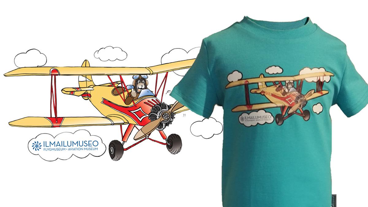 ilmailumuseo lastenvaatteet